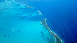 Flying over the Abacos