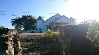 Church across from the Boiling Hole