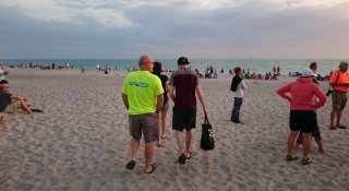 Manasota Key Beach at Sunset