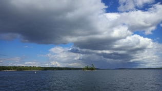 Stormy sky, Kilcoursey Bay